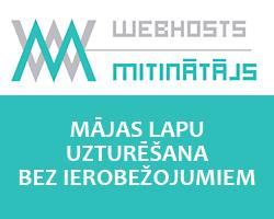 Webhosts - mājas lapu uzturēšana, hostings